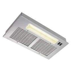 Broan Aluminum Power Pack Range Hood Insert, Exhaust Fan and Light Combo for Over Kitchen Stove, ...