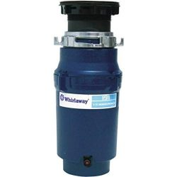 Premier 191-pc Whirlaway Garbage Disposal with Plug, 1/3 hp