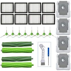 LesinaVac Replacement Accessory Kit for iRobot Roomba i7 i7+/i7 Plus E5 E6 Vacuum Cleaner.Replac ...