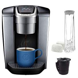 Keurig C K-Elite Maker, Single Serve K-Cup Pod Brewer, with Iced Coffee Capability, Extra Includ ...