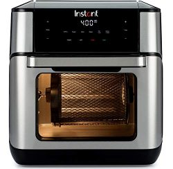 Instant Vortex Plus 7-in-1 Air Fryer, Toaster Oven, and Rotisserie Oven, 10 Quart, 7 Programs, A ...