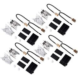 Moteder 330031 Electric Range Top Burner Receptacle Kit Compatible with Whirlpool Knemore Replac ...