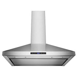 Golden Vantage 30″ Wall Mount Stainless Steel Touch Panel Kitchen Range Hood Cooking Fan