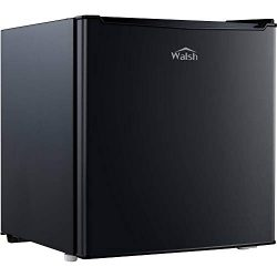 WALSH WSR17BK 1.7 Cu Ft Fridge Black, Meters