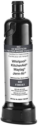 OEM Replacement for Ice Maker Water Filter Whirlpool F2WC9I1 ICE2 for 50 Pound Ice Machines R ...
