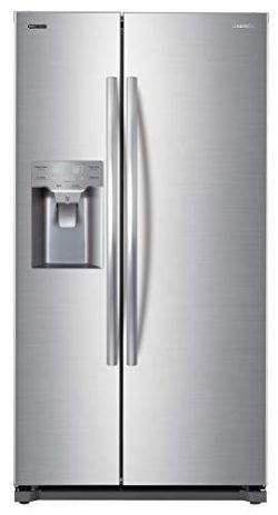 Daewoo FRS-Y22D2T RFS-Y22D2T 20 Cu. Ft. Side Mounted Silver Refrigerator, includes delivery and  ...