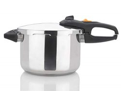 Zavor DUO 6.3 Quart Multi-Setting Pressure Cooker and Canner with Accessories – Polished S ...