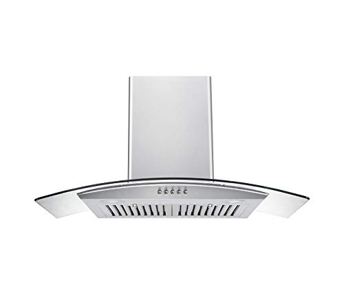 Hauslane | Chef Series Range Hood WM-600 30″ Wall Mount Range Hood | European Style with S ...