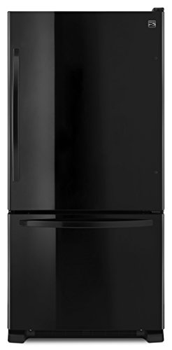 Kenmore 79349 22 cu. ft. Wide Bottom Freezer Refrigerator in Black, includes delivery and hookup
