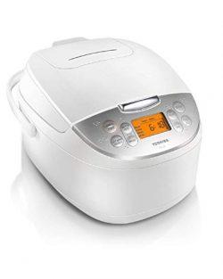 Toshiba TRCS01 Rice Cooker, 1 L, White