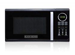 Black+Decker EM925ACP-P2 0.9 Cu. Ft. Digital Microwave, Black