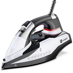 Vremi Steam Iron – 1800 Watts 120 Volts Steamer for Clothes with 350 mL Water Tank Capacit ...