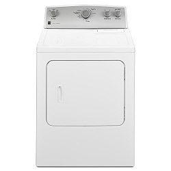 Kenmore 65212 Electric Dryer in White, includes delivery and hookup (Available in select cities  ...