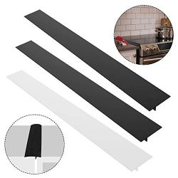 "3 Pack 25"" Silicone Kitchen Stove Counter Gap Filler Cover, AIFUDA Heat-Resistant Spill Gu ..."