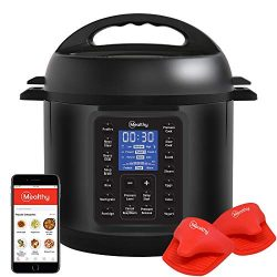 Mealthy Multipot 2.0 9-in-1 Programmable Pressure Cooker 6 Quarts with Auto-seal lid, Hands-free ...