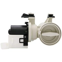 W10130913 Washer Drain Pump with Motor fit for Whirlpool Kenmore Washers by Appliancemate, Origi ...