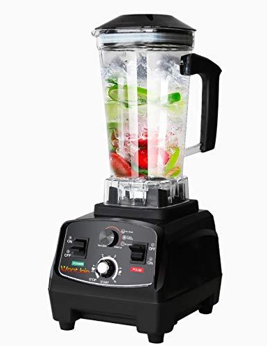 WantJoin Professional Blender, Countertop Blender ,Kitchen Blender Food Mixer 2200W, High Power  ...