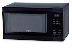 Willz WLCMD207BK-07 0.7 cu ft Black Microwave