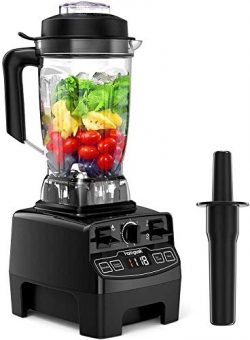 Blender 1450w, Homgeek Professional Countertop Blender Smoother Maker with 68oz BPA Free Tritan  ...