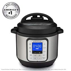 Instant Pot DUO NOVA 3 Qt 7-in-1 Multi-Use Programmable Pressure Cooker, Slow Cooker, Rice Cooke ...