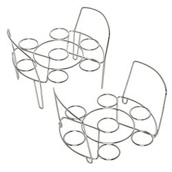 Instant Pot 5252281 Official Wire Egg Racks, Set of 2, Compatible with 6-quart & 8-quart coo ...