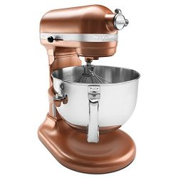 KitchenAid KP26M1XCE 6 Qt. Professional 600 Series Bowl-Lift Stand Mixer – Copper Pearl (R ...