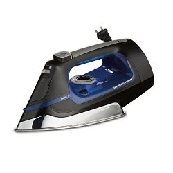 Hamilton Beach Iron & Vertical Steamer with Scratch-Resistant Stainless Steel Soleplate, 150 ...
