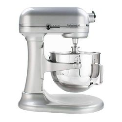 KitchenAid KG25H0XMC Professional HD Series Stand Mixer, 5 Qt, Metallic Chrome