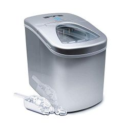 Prime Home Direct Portable Ice Maker for Countertop – Makes Ice in 8 Minutes – Porta ...