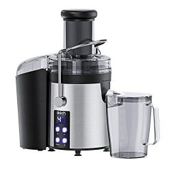 IKICH Centrifugal Juicer 4 Speed Juice Extractor Creates More Juice and High Nutrient, Digital D ...