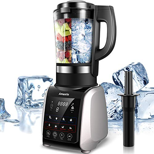 Blender for Shakes and Smoothies, Amaste Profesional Blender Easy to Clean for Dishwashers ,Hot ...