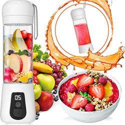 Portable Blender Lacomri – Powerful Crusher for Frozen Fruits and Veggies – Travel B ...