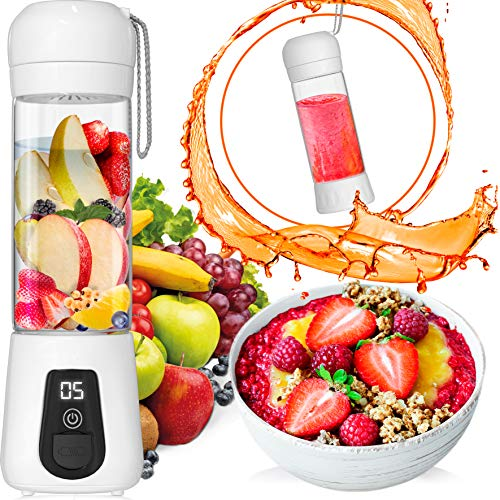 Portable Blender Lacomri – Powerful Crusher for Frozen Fruits and Veggies – Travel B ...