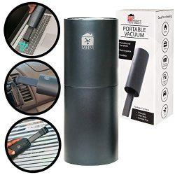 ModernHomeMaker Cordless Mini Vacuum Cleaner – USB Rechargable Lithium Battery Handheld Va ...