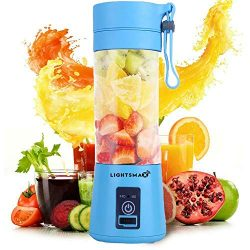 LIGHTSMAX Portable Blender Personal Size Blender Juicer Cup for Juice Crushed-ice Smoothie Shake ...