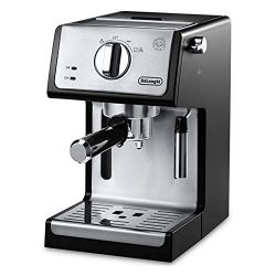 DeLonghi ECP3420 Bar Pump Espresso and Cappuccino Machine, 15″, Black