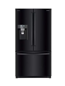 Daewoo RFS-26DBCE French Door Refrigerator, Black, includes delivery and hookup