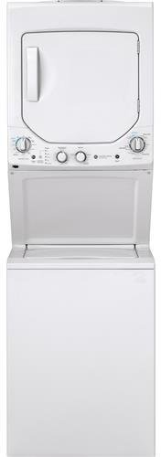 GE GUD24GSSMWW Unitized Spacemaker 2.3 Washer with Stainless Steel Basket and 4.4 Cu. Ft. Capaci ...