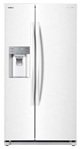 Daewoo FRS-Y22D2W Side Refrigerator, White, includes delivery and hookup