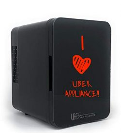 Uber Appliance UB-CH2 Uber Chill 2.0 Dry Erase White Board Personal Mini Fridge Electric Cooler  ...
