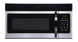 Black+Decker EM044KIN-P 1.6-Cu. Ft. Over-the-Range Microwave, Stainless Steel