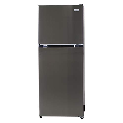Equator-Ascoli 10.5 cu.ft.Top Freezer Refrigerator Stainless