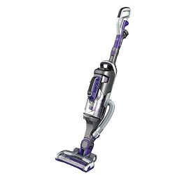 BLACK+DECKER HCUA525JP Cordless 2-in-1 Stick Vacuum, Powerseries Pro 20V Pet Vacuum, Purple (Ren ...