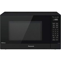Panasonic 1.2 Cu. Ft. 1200W Genius Sensor Countertop Microwave Oven with Inverter Technology in  ...