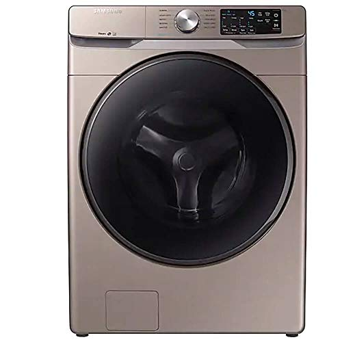 Samsung WF45R6100AC 4.5 cu. ft. Champagne Front Load Washer with Steam WF45R6100AC/US