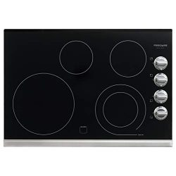 Frigidaire Gallery 30″ Electric Smoothtop Cooktop with Stainless Steel FGEC3045PS