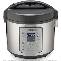 Instant Zest Plus Rice Cooker, Grain Maker, Saute Pan, Slow Cooker, and Steamer 20 Cups Cooks Ri ...