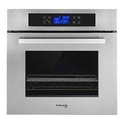 GASLAND Chef 24″ 2.3Cu.f Multi-functional Built-in Stainless Steel Electric Single Wall Ov ...