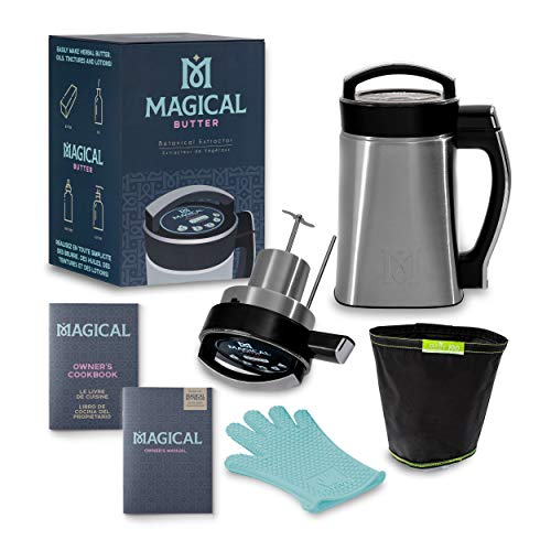 Magical Butter MB2E Botanical Extractor Herbal Infuser Machine with Magical Butter official 7 pa ...