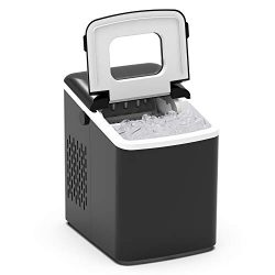 Terra Hiker Portable Ice Maker for Countertop, Ice Ready in 6 Minutes, 28 lbs (13 kg) Ice in 24  ...